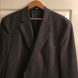 Brooks Brothers Charcoal Gray Wool Jacket